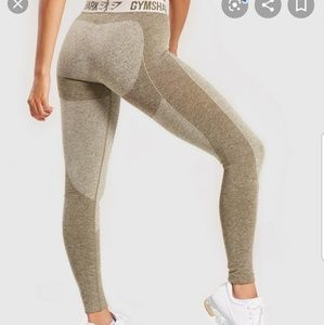 Gymshark Flex Legging in Khaki